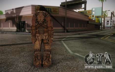 Dom From Gears of War 3 for GTA San Andreas second screenshot