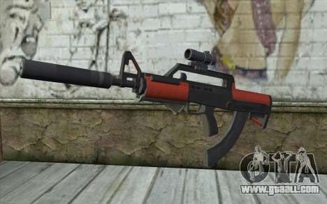 BullPup Rifle из GTA 5 for GTA San Andreas