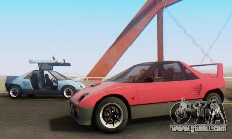 Mazda Autozam AZ-1 for GTA San Andreas left view