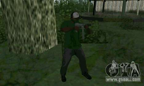 New features of weapons for GTA San Andreas