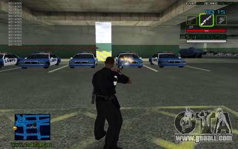 C-HUD by SampHack v.2 for GTA San Andreas third screenshot