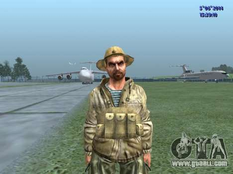 The airborne soldier of the USSR for GTA San Andreas