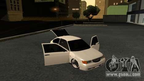VAZ 2112 BAN for GTA San Andreas