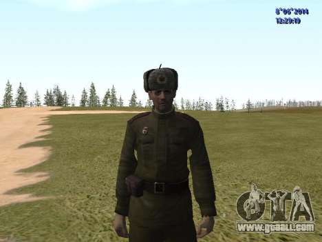 USSR Soldier Pack for GTA San Andreas fifth screenshot