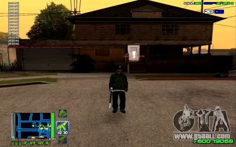 C-HUD Optimal for GTA San Andreas