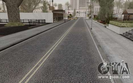 HD Roads 2014 for GTA San Andreas
