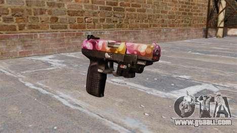 Gun FN Five seveN Dots LAM for GTA 4