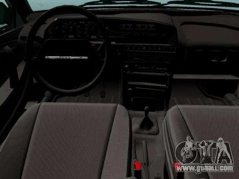 VAZ-21099 for GTA San Andreas back left view