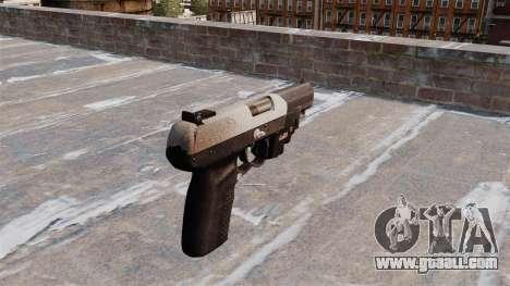 Gun FN Five seveN LAM Chrome for GTA 4 second screenshot