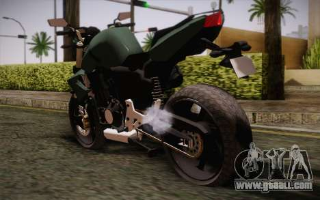Yamaha FZ6 for GTA San Andreas left view