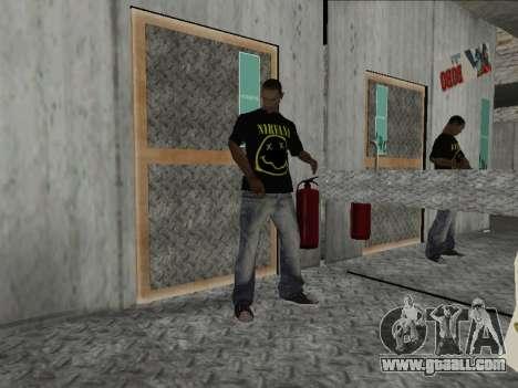 New Mike Nirvana and Kurt Cobain for GTA San Andreas second screenshot