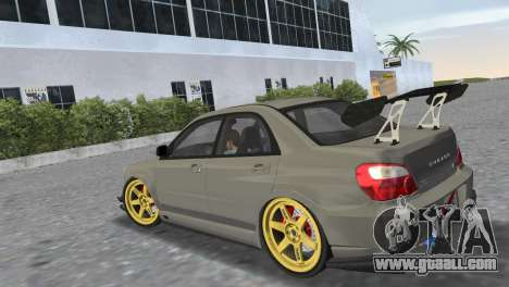 Subaru Impreza WRX STI 2005 for GTA Vice City left view