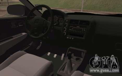 Honda Civic 1999 for GTA San Andreas right view
