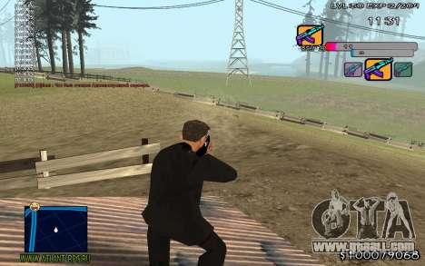 C-HUD Color for GTA San Andreas third screenshot