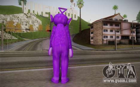 Kicks-Winky (Teletubbies) for GTA San Andreas second screenshot