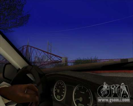 GAZ 31105 Tuneable for GTA San Andreas inner view