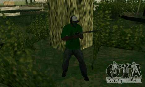 New features of weapons for GTA San Andreas sixth screenshot