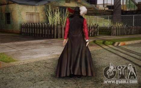 One Piece Dracule Mihawk for GTA San Andreas second screenshot