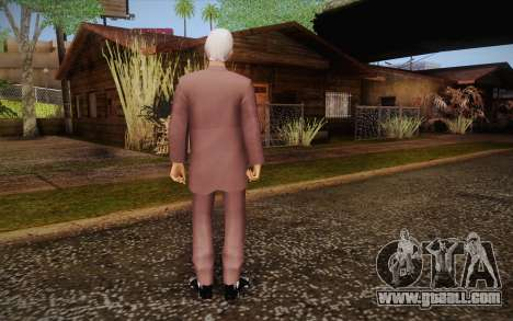 Leslie William Nielsen for GTA San Andreas second screenshot