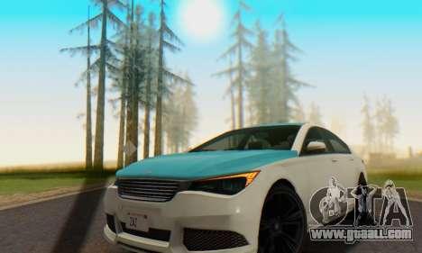Superiority Oracle II - V.2 for GTA San Andreas wheels