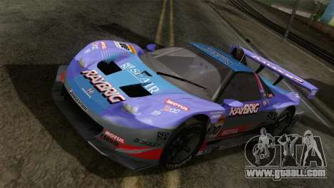 Honda NSX World Grand Prix for GTA San Andreas