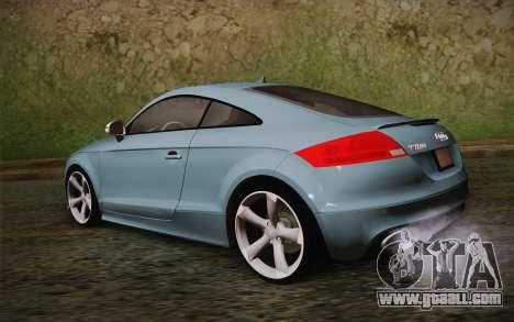 Audi TT RS 2011 for GTA San Andreas left view