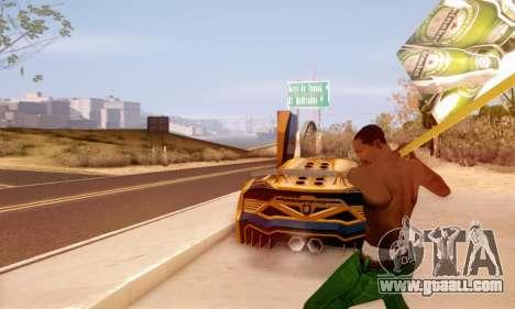 A sign advertising of beer for GTA San Andreas third screenshot