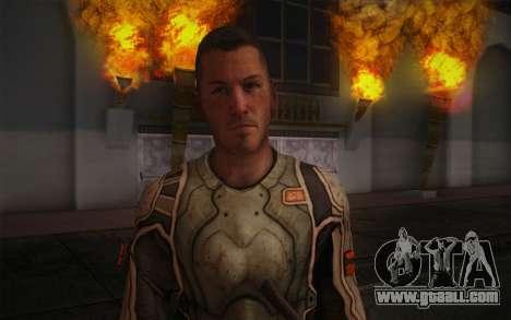 Lt. Nicholas Raine из Rage for GTA San Andreas third screenshot