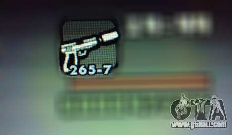 New features of weapons for GTA San Andreas seventh screenshot