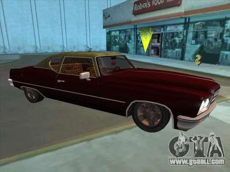 Yardie Lobo from GTA 3 for GTA San Andreas left view
