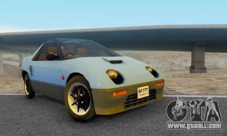 Mazda Autozam AZ-1 for GTA San Andreas
