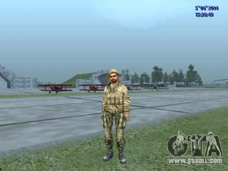The airborne soldier of the USSR for GTA San Andreas third screenshot