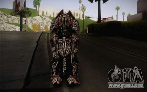 Theron Guard Cloth From Gears of War 3 v2 for GTA San Andreas second screenshot