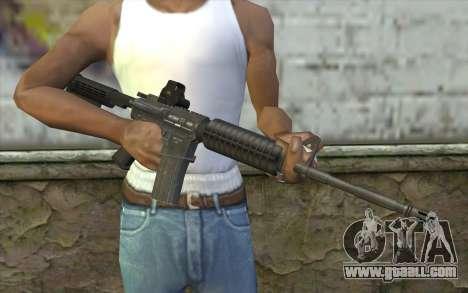 M4A1 Holosight for GTA San Andreas third screenshot