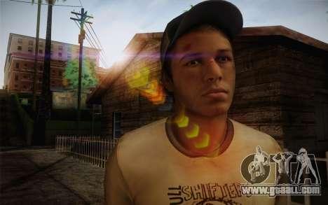 Ellis from Left 4 Dead 2 for GTA San Andreas third screenshot