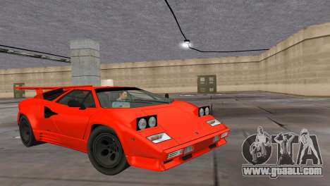 Lamborghini Countach LP5000 Extreme for GTA Vice City