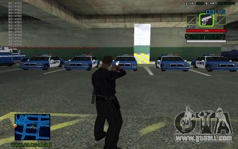 C-HUD by SampHack v.2 for GTA San Andreas second screenshot