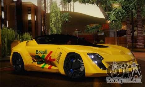 Bertone Mantide World Brasil 2010 for GTA San Andreas