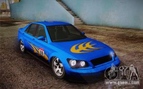 Sultan из GTA 5 for GTA San Andreas interior