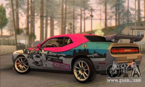 Dodge Challenger SRT8 2012 for GTA San Andreas left view