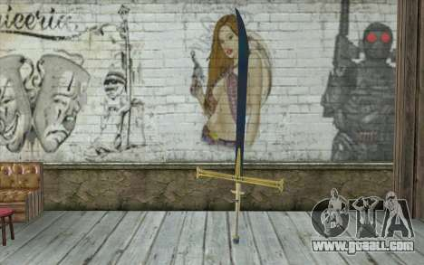 One Piece Black Sword for GTA San Andreas