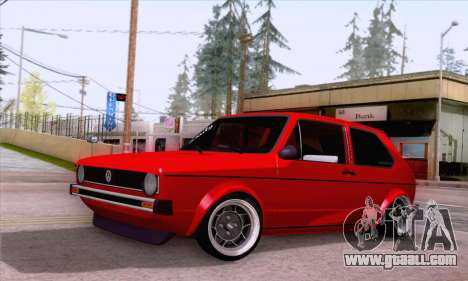 Volkswagen Golf Mk I 1978 for GTA San Andreas