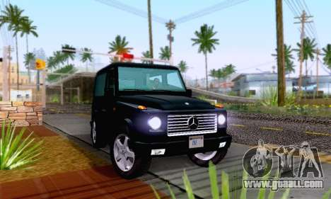 Mercedes-Benz G500 1999 Short for GTA San Andreas right view