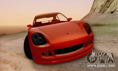 Pfister Comet V1.0 for GTA San Andreas upper view