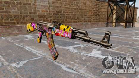 The AK-47 Graffitti for GTA 4