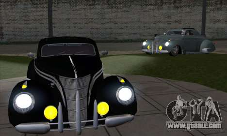 Lincoln Zephyr 1946 for GTA San Andreas right view
