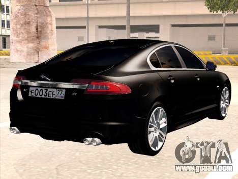 Jaguar XFR for GTA San Andreas right view