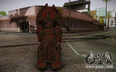 Theron Guard Cloth From Gears of War 3 v1 for GTA San Andreas second screenshot