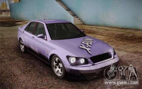 Sultan из GTA 5 for GTA San Andreas engine