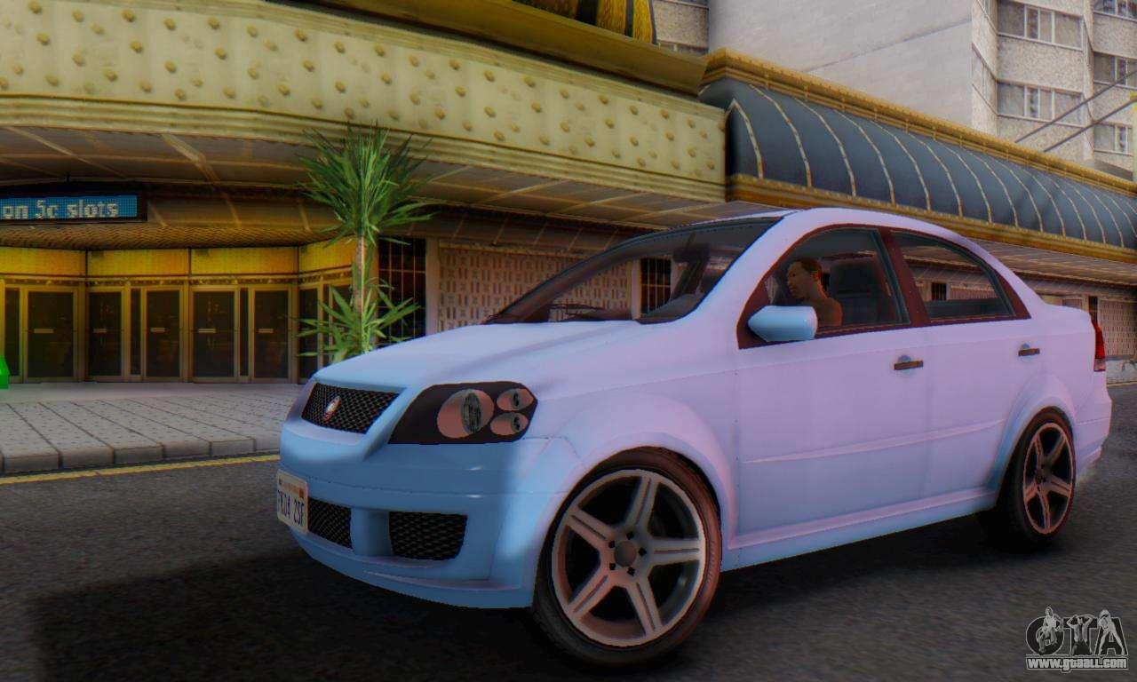 DeClasse Asea V1.0 for GTA San Andreas